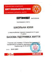 Шкільна (Ткаченко)